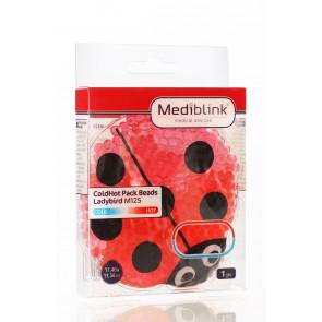 MEDIBLINK Hladilno-toplotna blazinica s kroglicami, Pikapolonica 11,4 x 11,5 cm M125