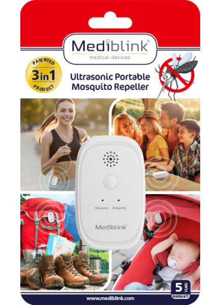 MEDIBLINK Ultrazvočni prenosni odganjalec komarjev M001